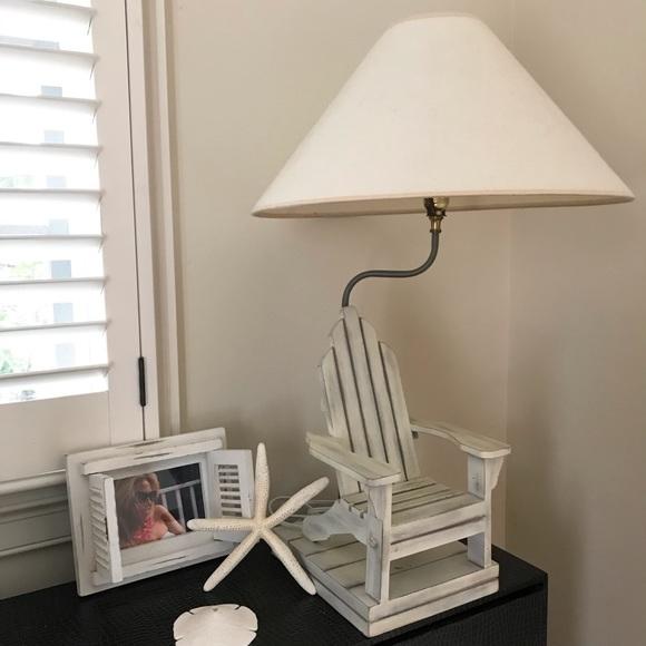"Ballard Designs Other - Ballard Designs ""Beach House Lamp"" +Starfish+Frame"